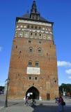 Danzica, Polonia 25 agosto: Torre della prigione a Danzica dalla Polonia Fotografia Stock Libera da Diritti