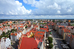 Danzig, Pologne Photo libre de droits