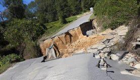 Daño de Matthew del huracán en Carolina del Norte Imágenes de archivo libres de regalías