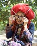 Dao People rojo de Vietnam Foto de archivo