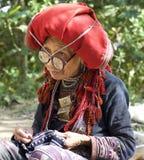 Dao People rojo de Vietnam Fotografía de archivo libre de regalías