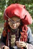 Dao People vermelho de Vietname Imagens de Stock Royalty Free