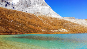 Daocheng Yading , a national level nature reserve in China Royalty Free Stock Photography