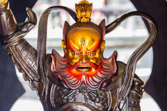 Daoist god of protecting people from evil Stock Photos