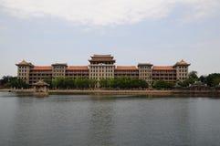 Daonan budynek, Jimei szkoły wioska, Xiamen obrazy stock