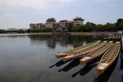Daonan byggnad, Jimei skolaby, Xiamen Arkivbild