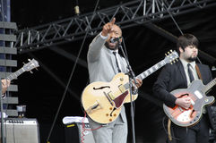 The DAP-KINGS,concert of Jazz Stock Image
