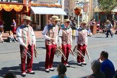 The Daper Dan 's at Disneyworld Royalty Free Stock Images