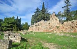 Daphni monaster w Ateny Grecja zdjęcie stock
