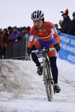 Daphny Van den Brand - cyclocross Royalty Free Stock Photos