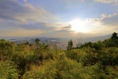 Daping mountain sunset Stock Image