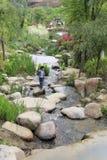Dapingshan de heuvelpark van het toeristenbezoek Royalty-vrije Stock Foto's