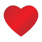 dappled сердце Стоковая Фотография RF