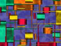dappled формы Стоковые Изображения