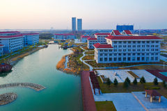The Daqing city colleges for training managerial personnel Stock Images