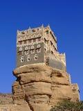 Dar Al Hajar (岩石宫殿),也门 图库摄影
