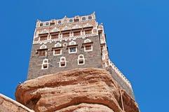 Dar al-Hajar, Dar al Hajar, the Rock Palace, royal palace, iconic symbol of Yemen Stock Photography