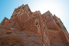 Dar al-Hajar, Dar al Hajar, the Rock Palace, royal palace, iconic symbol of Yemen Royalty Free Stock Photos