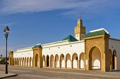 Dar al Makhzen is the primary and official residence of the king of Morocco. It is situated in the Touarga commune of Rabat stock photos