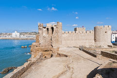 Dar-el-Bahar fortress at Safi, Morocco Stock Photography