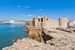 Dar-el-Bahar fortress at Safi, Morocco Royalty Free Stock Photos