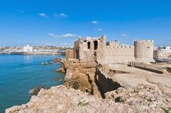 Dar-el-Bahar fortress at Safi, Morocco. Dar-el-Bahar fortress at Safi on the atlantic coast, Morocco Royalty Free Stock Photos