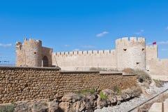 Dar-el-Bahar fortress at Safi, Morocco Stock Image