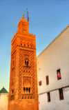 Dar El Makhzen Mosque in the old medina of Casablanca, Morocco Stock Images
