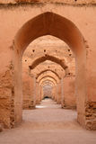 Dar El Makhzen. Sultan Moulay Ismail stables in Meknes, Morocco Royalty Free Stock Photos