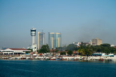 Dar er salaam view Royalty Free Stock Images