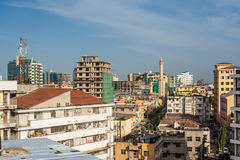 Dar es Salaam City. A view of the city of Dar es Salaam in Tanzania Stock Photography