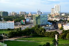 Downtown in Dar royalty free stock image