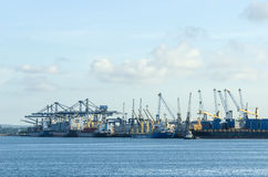 Dar es Salaam port Royalty Free Stock Images