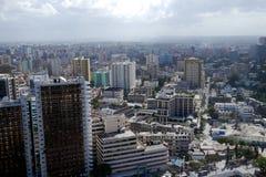 Dar es salaam, tanzania. Huge sprawling city of dar es salaam, tanzania Royalty Free Stock Images
