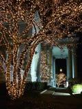 dar korridor för julkonstitution Royaltyfria Bilder