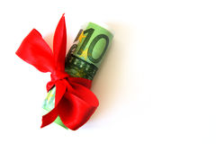 dar pieniądze Zdjęcia Royalty Free