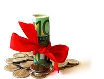 dar pieniądze zdjęcia stock