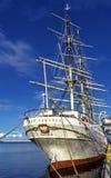 Dar Pomorza польское полно-оснащенное парусное судно построенное в 1909 которое сохранено в Гдыне как корабль музея стоковая фотография rf