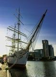 Dar Pomorza польское полно-оснащенное парусное судно построенное в 1909 которое сохранено в Гдыне как корабль музея стоковые фото