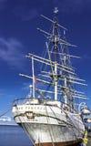 Dar Pomorza English: O presente de Pomerania é um navio de navigação completo-equipado polonês construído em 1909 que seja preser imagem de stock