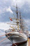 The Dar Pomorza frigate Stock Images