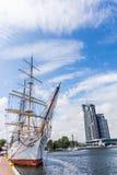 The Dar Pomorza frigate Stock Image