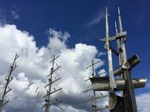 Dar Pomorze i zabytek żeglarzi, Gdynia, Polska obraz stock