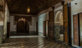 Dar Si Said Museum III Royaltyfri Fotografi