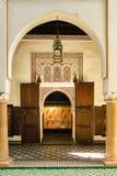 Dar Si Said palace. Marrakesh. Morocco. Gallery. Dar Si Said palace. Marrakesh. Morocco Royalty Free Stock Photography