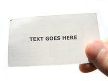 Dar un mensaje Imagen de archivo libre de regalías