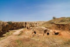 Dara Necropolis in Mardin Stock Image