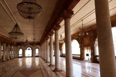 Darbar Corridoio di Royal Palace, Indore Fotografia Stock Libera da Diritti