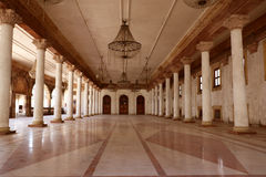 Darbar Hall of Royal Palace, Indore Stock Photo
