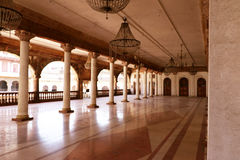 Darbar Hall of Royal Palace, Indore Stock Photos